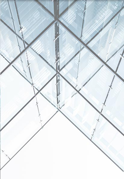 photo of glazing and glass work with fine detail