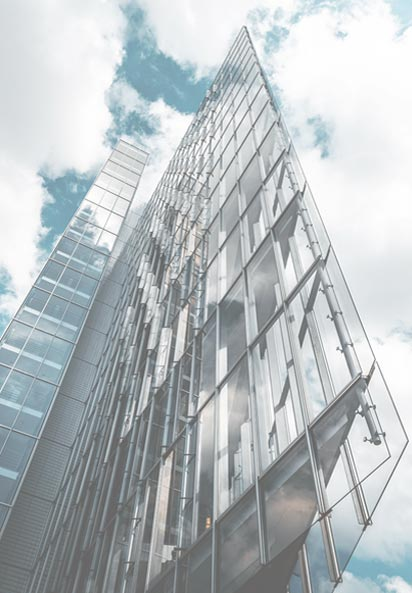 beautiful glassy building - glass walls