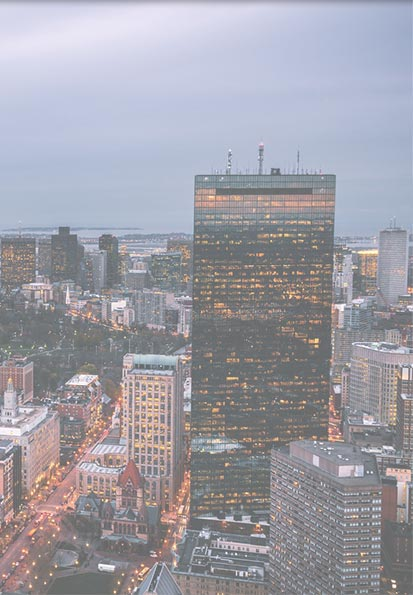 picture of Boston and Hancock Building