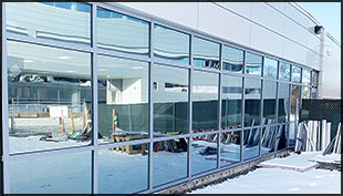 Sample of Storefronts and Curtain Walls